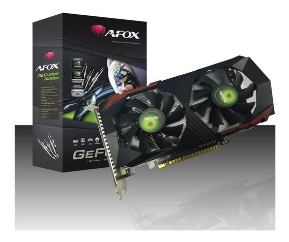 Placa De Vídeo Afox Gtx 1050 Ti 4gb Ddr5