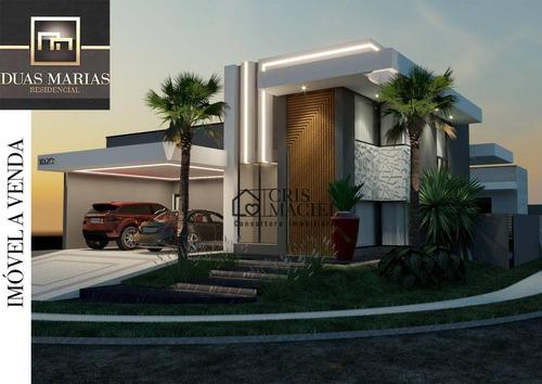 Imagem 1 de 15 de Casa Com 3 Suítes À Venda, 237 M² Por R$ 1.980.000 - Residencial Duas Marias - Indaiatuba/sp - Ca0219