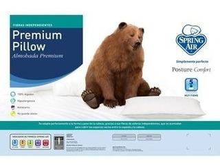 Almohada Spring Air Premium Pillow King Size