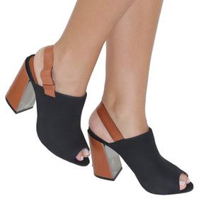 215b379fb1 Sapato Capodarte Salto Grosso - Calçados