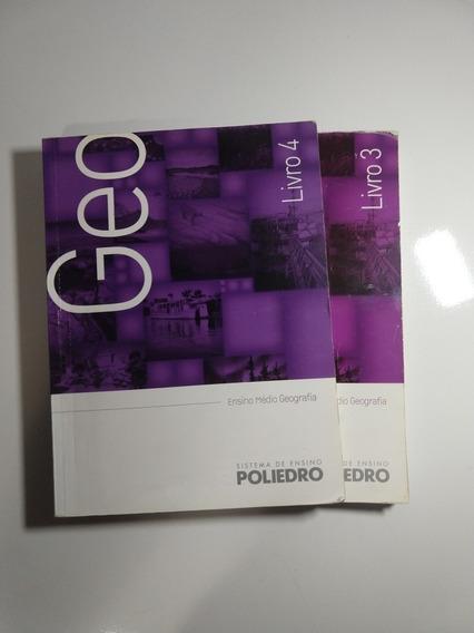 Livro Poliedro Do Ensino Médio De Geografia