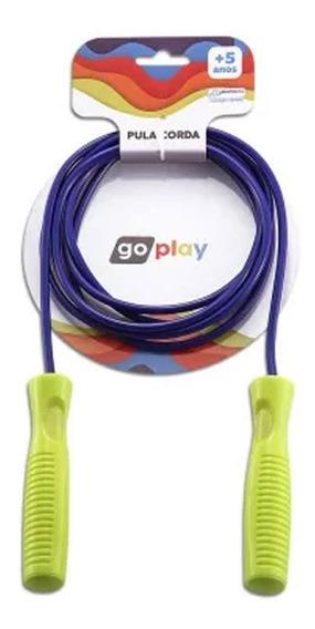 Go Play Pula Corda 2,2m Indicado P/ +3 Anos Multikids Br947