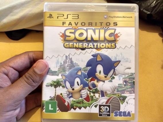 Sonic Generations- Ps3 Usado