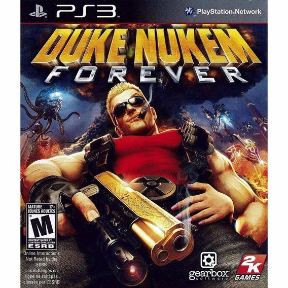 Duke Nukem Forever Ps3 - Midia Física | Garantia Playgorila