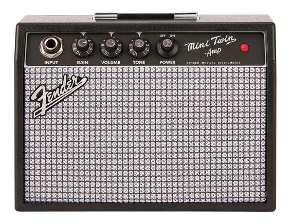 Amplificador Fender Mini 65 Twin Amp 1w + Nf E Garantia