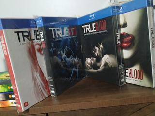 Blu-ray True Blood (temporadas 1, 2, 3 E 5) Originais