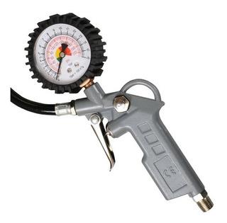 Calibrador Manual De Pneus Com Manômetro Analógico