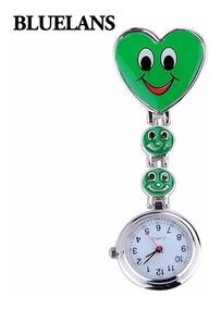 Relógio Medicina Enfermagem Verde