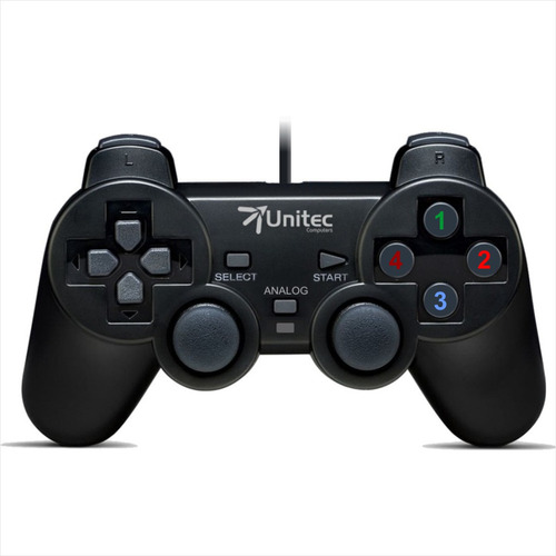 Imagen 1 de 6 de Control De Juegos Gamepad Usb · Dual Shock Análogo / Digital