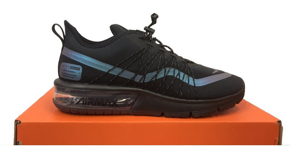 Tênis Nike Air Max Sequent 4 Utility Preto Original