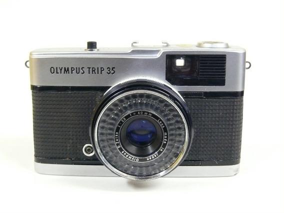 Câmera Analógica Olympus Trip 35 40mm 1:2.8