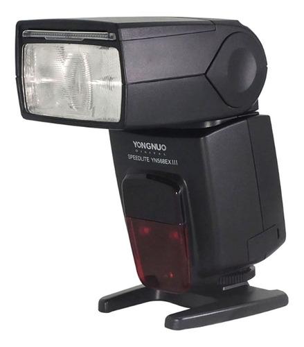 Flash Yongnuo Yn-568ex Iii Ttl P/ Nikon D3200 D3500 D5100