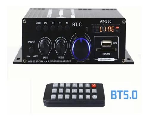 Imagen 1 de 5 de Ak380 - Mini Amplificador De Potencia De Sonido De Audio (40