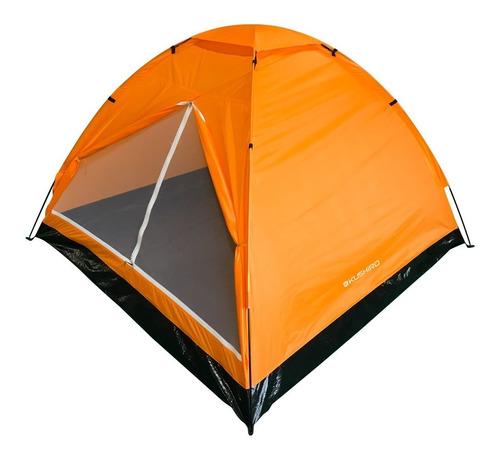 Carpa Iglú Liviana Para 4 Personas Reforzada Camping Kushiro