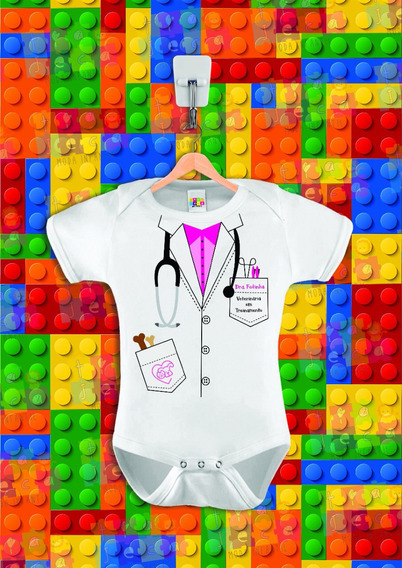 Body Infantil Dra Fofinha, Veterinária