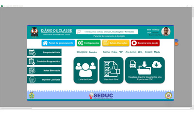 Diário De Classe Digital (eletrônico)