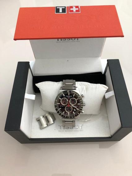 Relógio Tiissot Prs516 Masculino Original Aço Fundo Preto