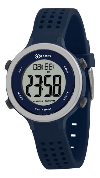 Relógio X Games Unissex Xkppd077 Bxdx Azul - Refinado