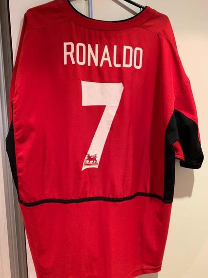 Camiseta Manchester United Cristiano Ronaldo Marca Nike