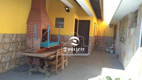Sobrado Com 3 Dormitórios À Venda, 192 M² Por R$ 700.000 - Vila Alzira - Santo André/sp - So2653