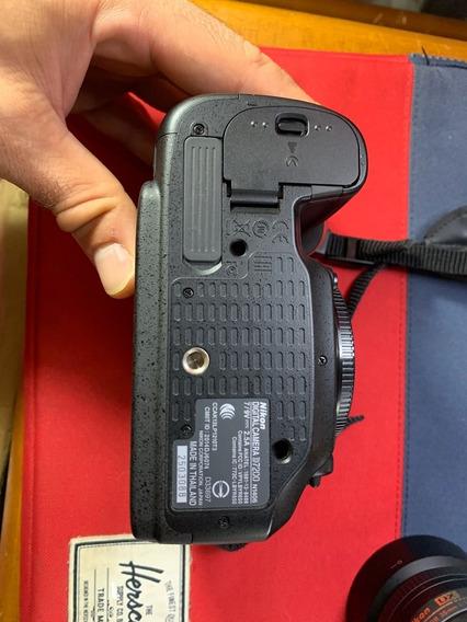 Dslr Nikon D7200 Corpo 24.2mp Full Hd Wifi 5000 Cliques