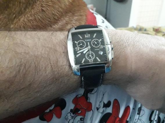 Relógio Timex Cronógrafo, Indiglo , A Prova D