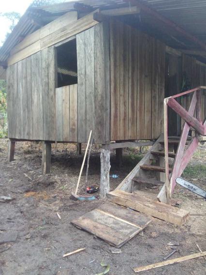 Se Vende Terreno De Tres Hectareas Con Casa De Madera