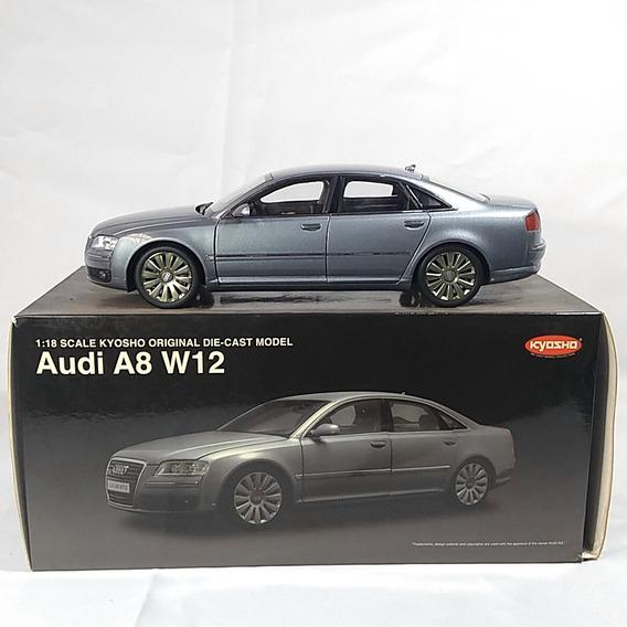 Audi A8 W12 Miniatura Kyosho Escala 1/18 Maravilhosa