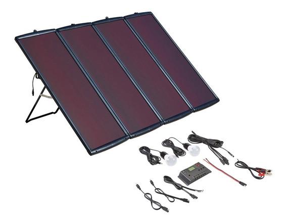 Kit De Panel Solar De Energia 100 Watts