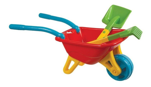 Imagem 1 de 4 de Brinquedo Para Playground Infantil Big Carriola