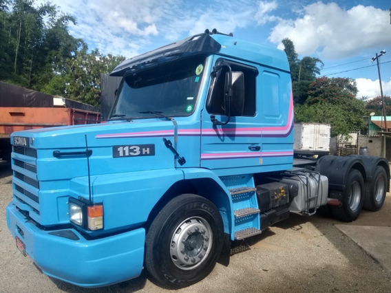 Scania T113 H 360 Top Line Trucado 6x2 1997 1998