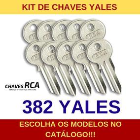 Kit De 382 Chaves Yales Virgens Para Cópia - Rca