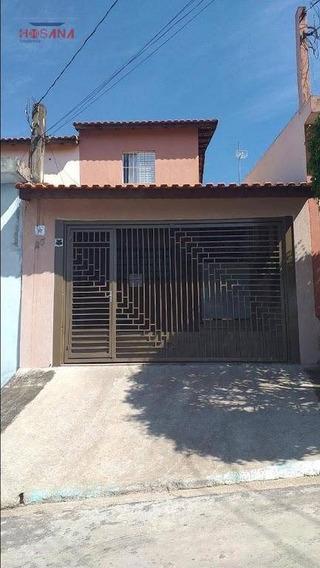 Sobrado Com 2 Dormitórios À Venda, 70 M² Por R$ 350.000 - Jardim Marcelino - Caieiras/sp - So0910