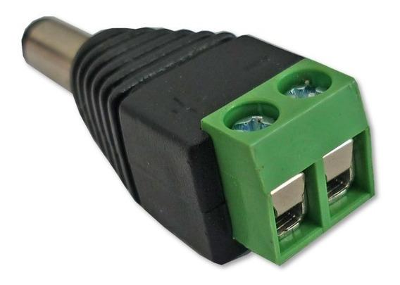 Conectores Plug De Corriente Macho 2,1mm Cctv 12v Cámaras