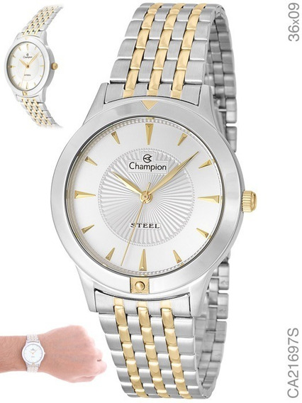 Relógio Analógico Unisex Social Champion Ca21697s