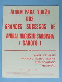 Partitura Violão: Garoto/geraldo Ribeiro, 3 Volumes + Brinde