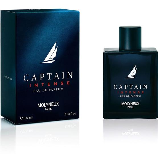 Perfume Captain Intense Homme Eau Parfum 100 Ml Selo Adipec