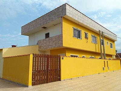 Casa Sobreposta Nova, C/2 Dormitórios, Bairro Com Moradores.
