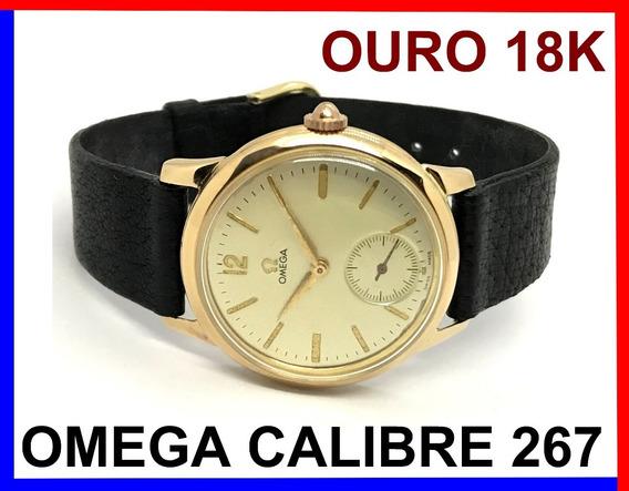 Omega Trèsor 1960 Calibre 267 Ouro Rosé 18k 750, Caixa 35mm!