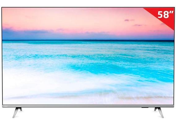 Smart Tv Led Philips 58 Pug6654/78, 4k Hdmi Saphi E Wi-fi