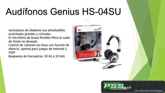 Audifonos Genius Hs-04su