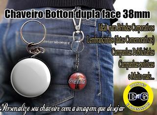 Chaveiro Botton Dupla Face 38mm