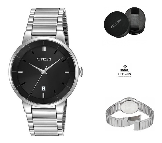 Reloj Citizen 60744 Bi5010-59e Hombre Acero Negro Full