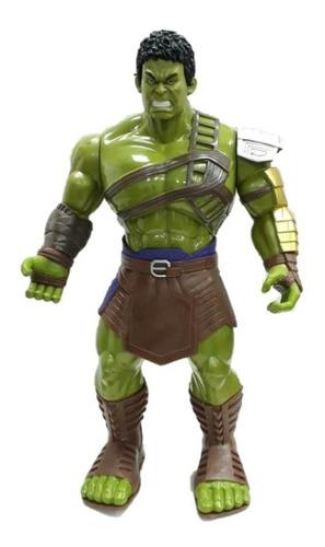 Muñeco Articulado De Hulk Grande 35cm Thor Ragnarok