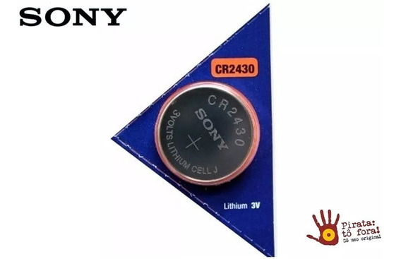 Bateria Sony Cr2430 - Pack 3 Baterias