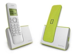 Telefono Inalambrico Manos Libres Agenda Alcatel G280 Verde