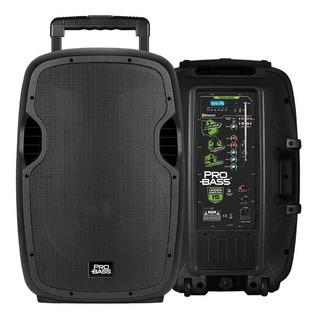 Bafle Potenciado Probass Underground 15 Bluetooth+batería