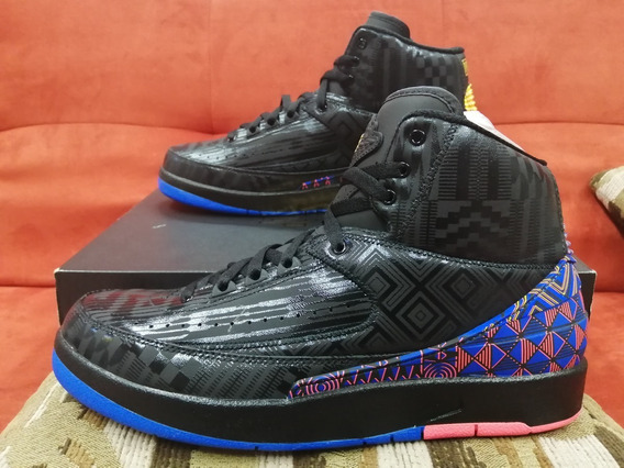 Air Jordan Reto 2 Bhm Black History Month.