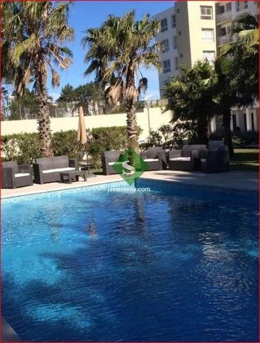 Alquiler De Apartamento En La Mansa, 1 Dormitorio, Baño, Piscina, Buena Vista.- Ref: 167573
