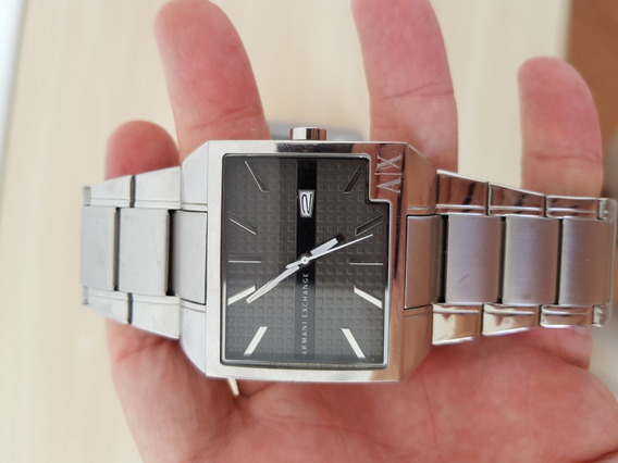 Relógio Armani Exchange - Original Cromado Ax2003